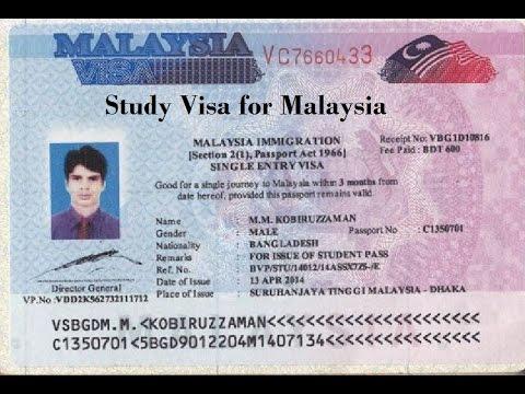 Visa du học Malaysia