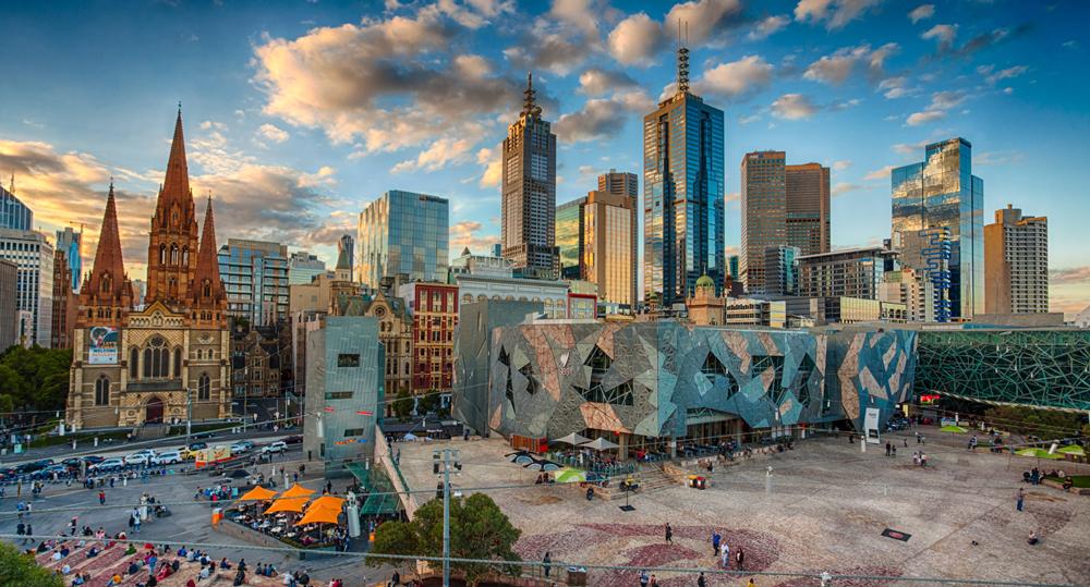 Quảng trường Federation - Du lịch Melbourne