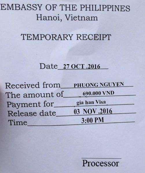 Hướng dẫn điền mẫu đơn xin visa du học Philippines