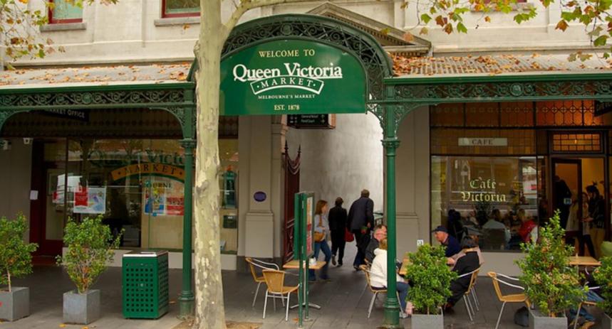 Chợ Nữ hoàng Victoria tại Melbourne