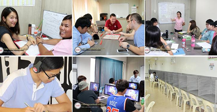 Lớp học trường Anh ngữ CIA Cebu
