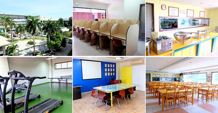 Cơ sở vật chất Trường Anh ngữ ZA English UV Campus - Du học Philippines - Du học Glolink
