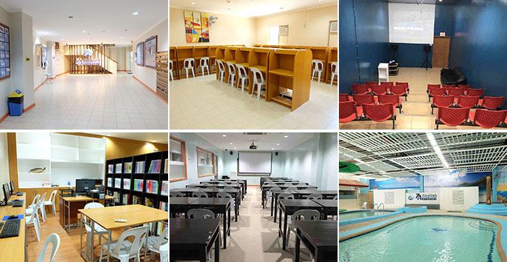 Cơ sở vật chất trường anh ngữ ZA English Mabolo Campus - Du học Philippines - Du họcGlolink
