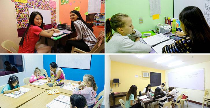 Du học Glolink - Trường Anh ngữ SMEAG - Lớp học