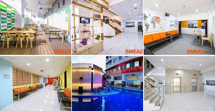 Du học Glolink - Trường Anh ngữ SMEAG - cơ sở vật chất ở Sparta Campus