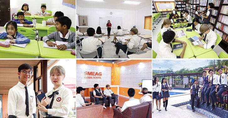 Du học Glolink - Trường Anh ngữ SMEAG - Global School Campus