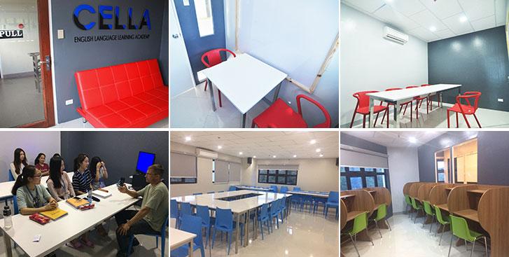 Cella Uni Campus classrooms