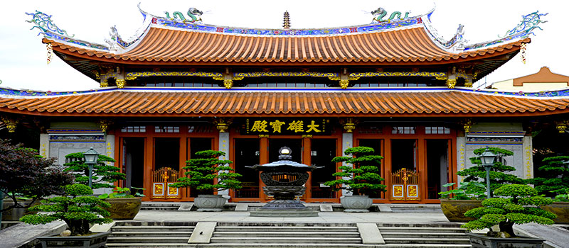 Ngôi chùa linh thiêng ở singapore