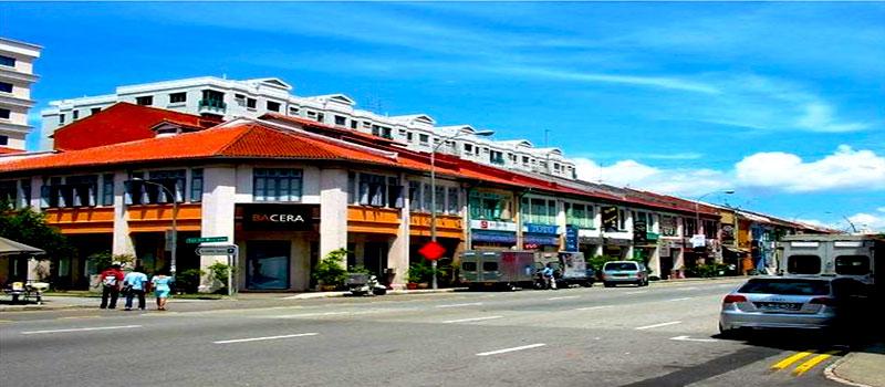 Khu phố nổi tiếng ở Singapore