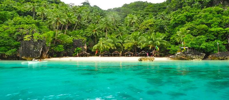 Bãi biển đẹp ở Philippines