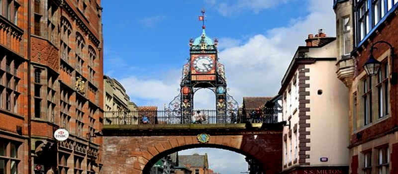 Thành phố Chester xinh đẹp nhất châu Âu