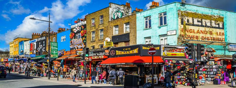 Chợ phiên nổi bật ở London